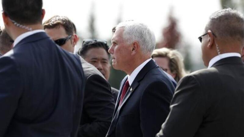 ABD Başkan Yardımcısı Mike Pence Ankara'da