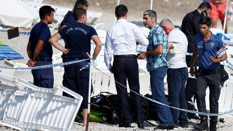Antalya'daki dalış eğitiminden acı haber