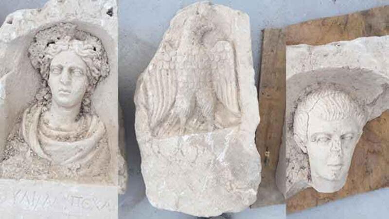 Tarihi eser kaçakçılarına operasyonda 1500 yıllık mezar odaları bulundu