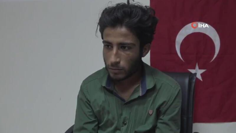 MSB, Barış Pınarı Harekatında teslim olan teröristin ifadesini paylaştı
