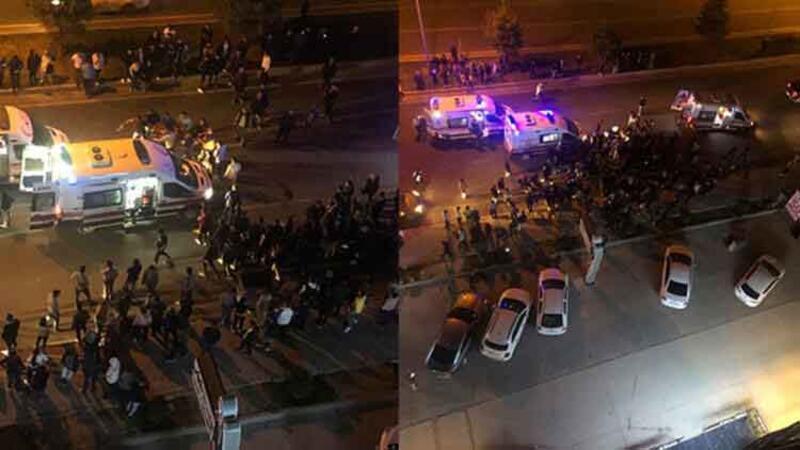 Otomobilin çarptığı 2 üniversite öğrencisi kız öldü.