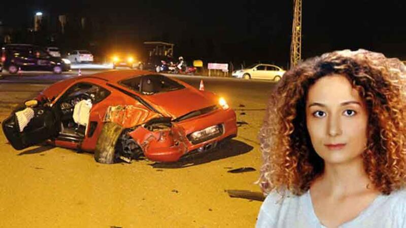 Sivas'ta korkunç kaza kamerada