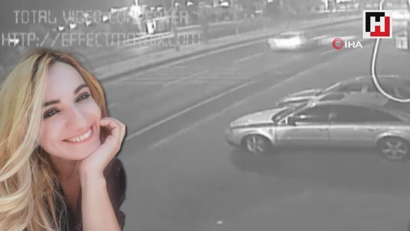 Nevşehir'de genç kızın ölümüne neden olan kazanın görüntüleri