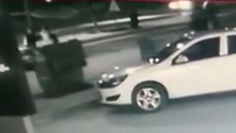 Üniversiteli 2 kızın hayatını kaybettiği kaza kamerada