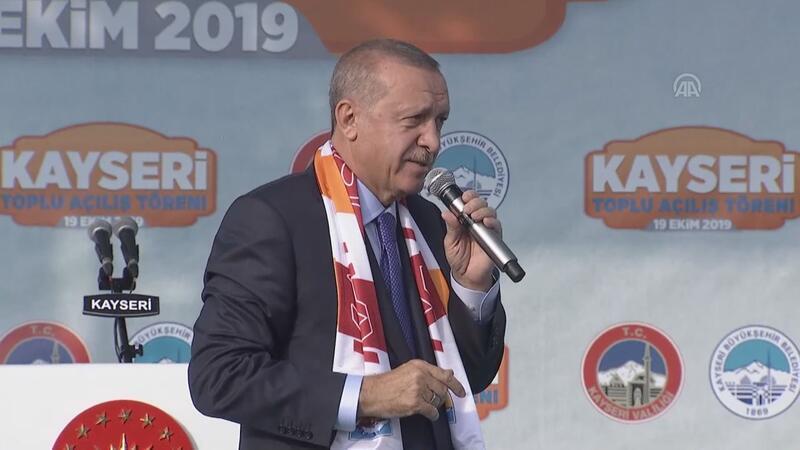 """Cumhurbaşkanı Erdoğan: """"Maalesef son 9 günde ülkemize karşı her türlü çirkinlik sergilendi"""""""