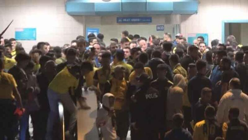 Ankaragücü-Beşiktaş maçının ardından kavga çıktı