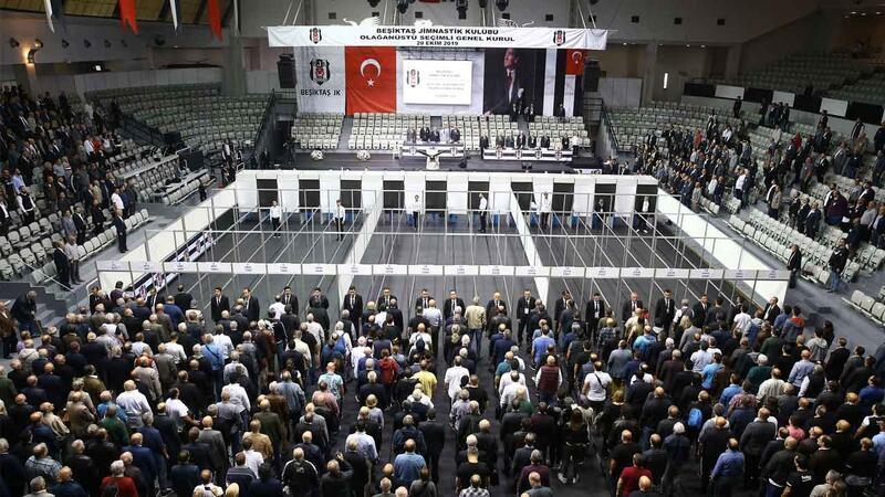 Beşiktaş'ta oy verme işlemi sürüyor...