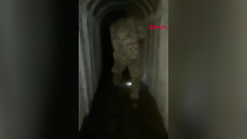 SMO tarafından keşfedilen tünel