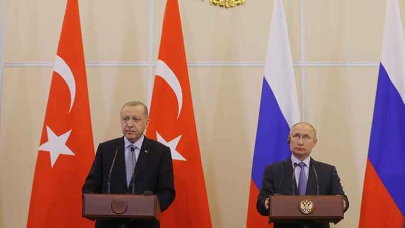 Cumhurbaşkanı Erdoğan Soçi'deki zirve sonrasında açıklamalarda bulundu