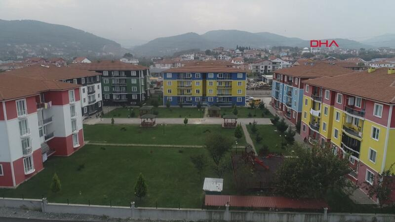 'Taraftar evleri' renkleriyle dikkat çekiyor