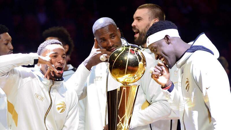 Toronto Raptors yüzüğüne kavuştu