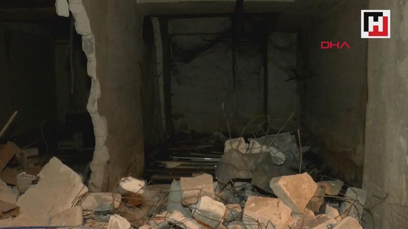 Otogarda yıkım tartışması