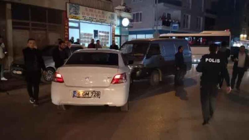 Polisten kaçan şüpheli, kovalamaca sırasında kaza yapınca yakalandı