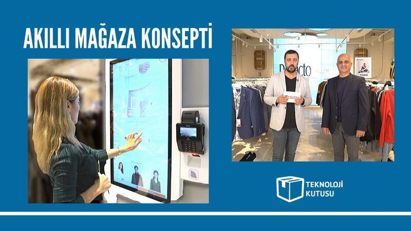 Türkiye'nin ilk akıllı mağazası kapılarını açtı
