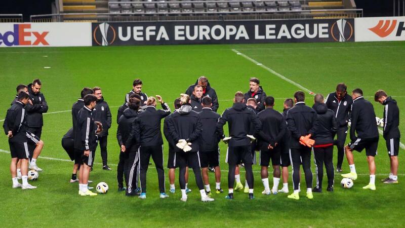 Beşiktaş Braga maçına hazır