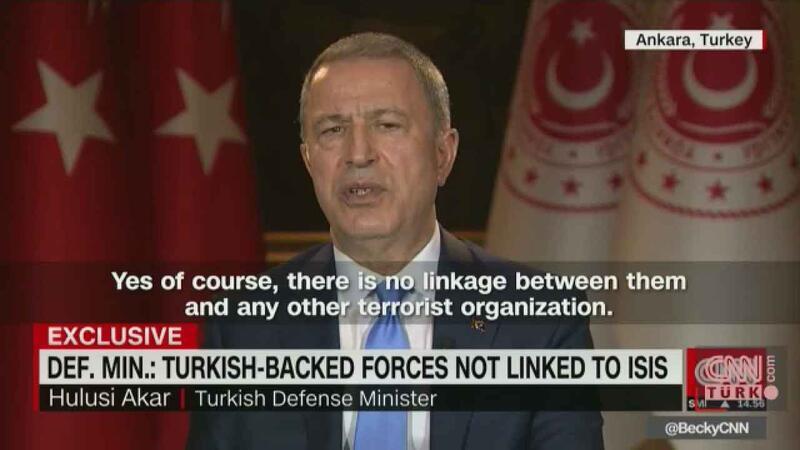 Hulusi Akar, CNN'de gündeme dair önemli açıklamalarda bulundu