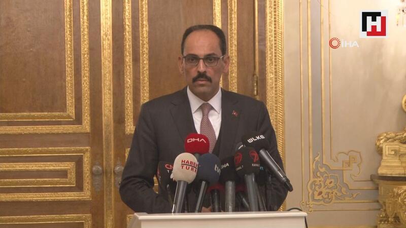 Cumhurbaşkanlığı Sözcüsü İbrahim Kalın'dan zirve açıklaması