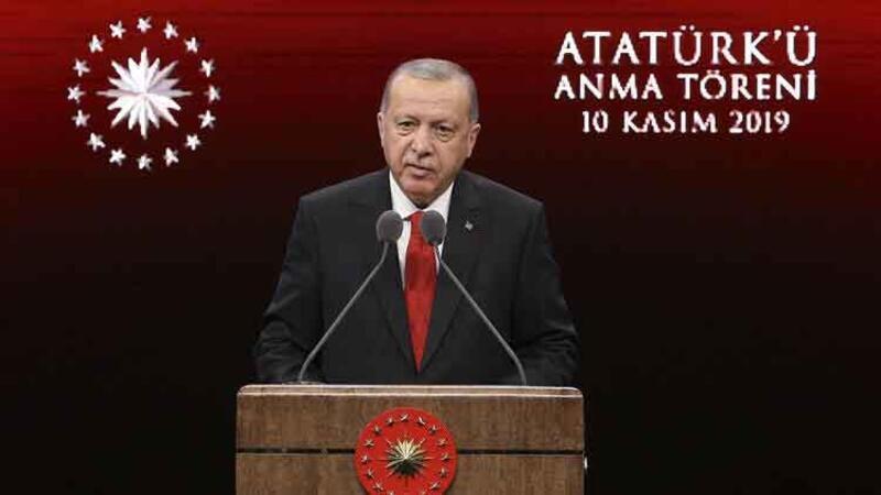Cumhurbaşkanı Erdoğan anma törenine katıldı
