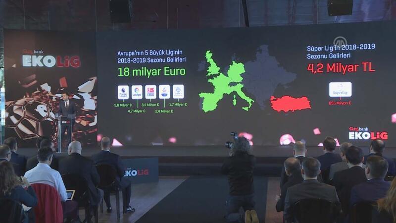 Süper Lig'in toplam gelirleri 4,2 milyar liraya ulaştı