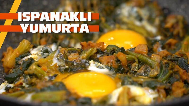 Vitamin, mineral, protein bir arada: Ispanaklı yumurta