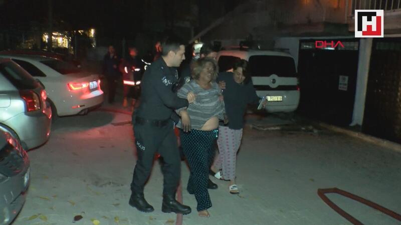 Evde yangın çıktı: 1 kişi yaralandı