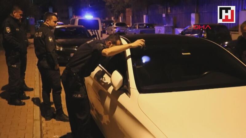 Ablasının otomobilin çaldı, polis kovalamacayla yakaladı