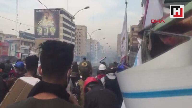 Irak'ta protestolar devam ediyor 3 ölü