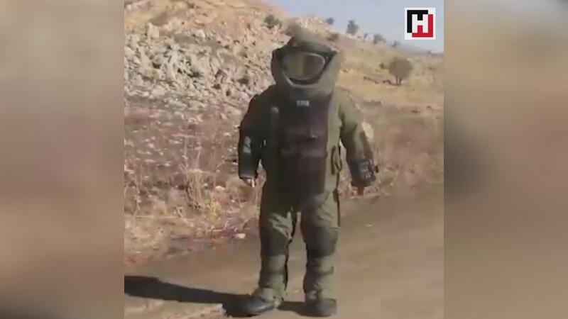 Jandarmadan bomba imha uzmanı paylaşımı