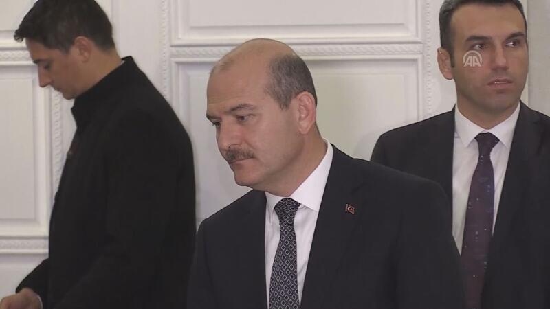 İçişleri Bakanı Süleyman Soylu, gazetecilerin sorularını yanıtladı.