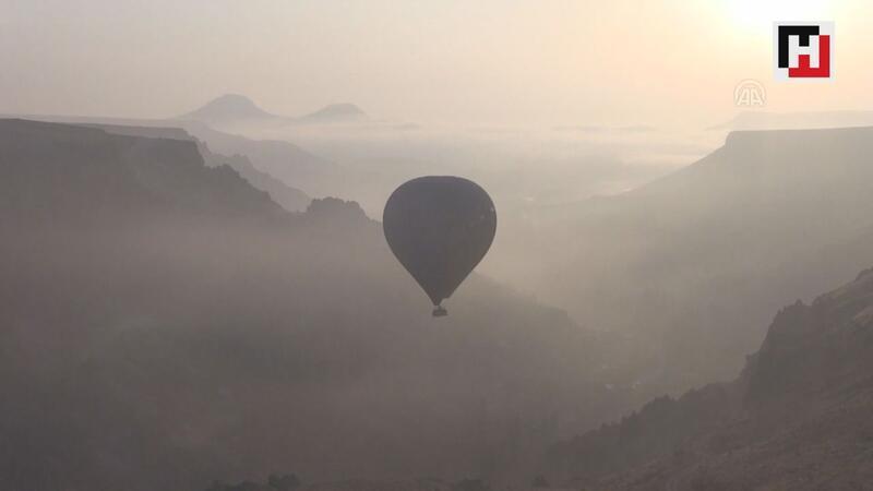 """""""Kayseri'nin Kapadokyası""""nda ilk balon heyecanı"""