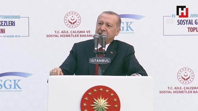 """Cumhurbaşkanı Erdoğan'dan """"EYT"""" açıklaması"""