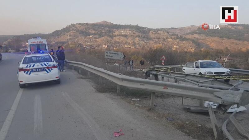 Karabük'te trafik kazası: 3 ölü 2 yaralı