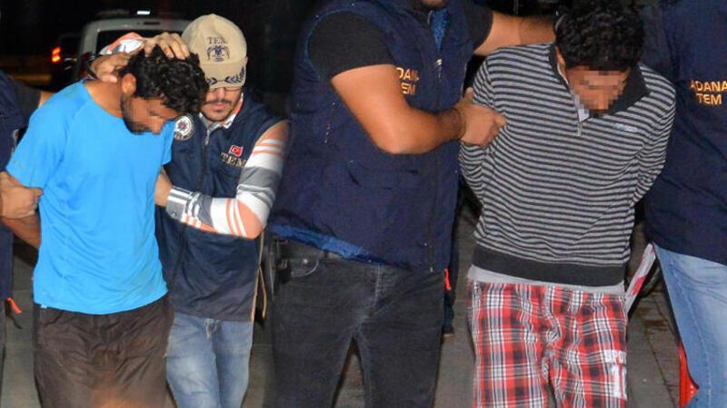 Suriyeli 4 kardeşe, DEAŞ gözaltısı