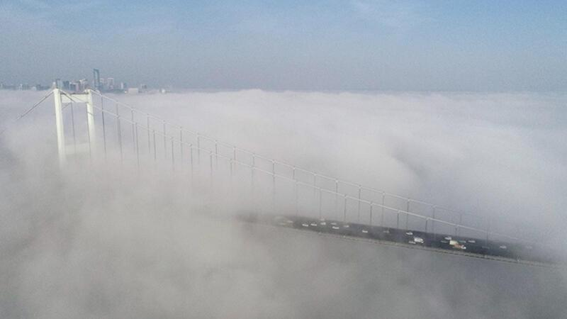 Air, sea, land traffic disrupted in Istanbul due to fog