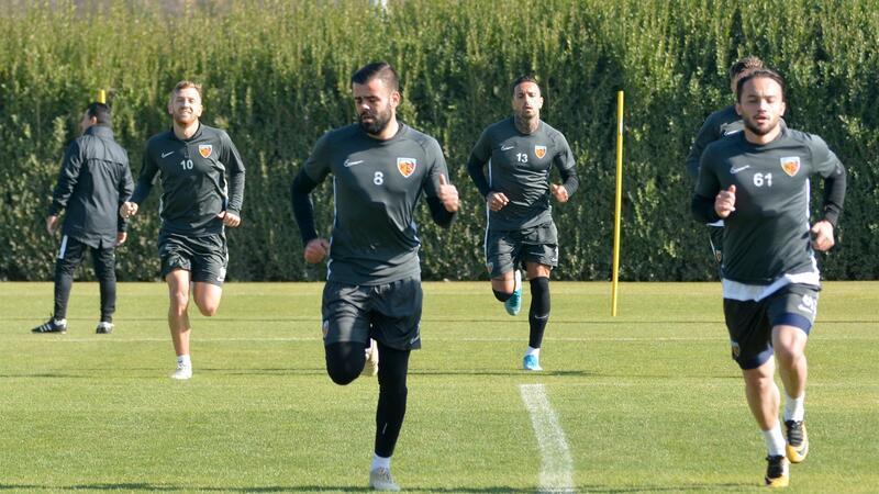 Kayserispor'da Sivasspor hazırlıkları sürüyor
