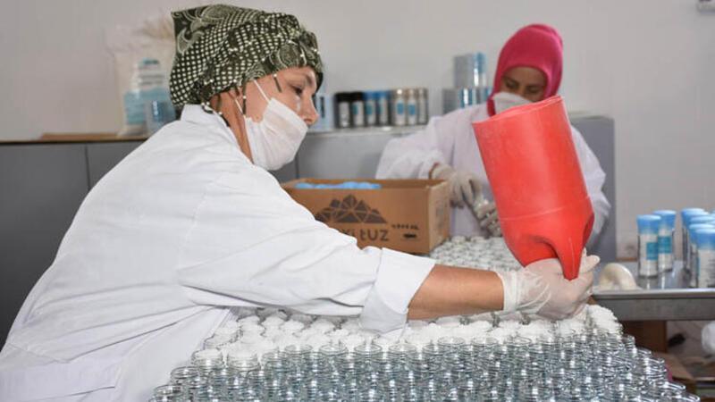 Kırıkkale'den dünyaca ünlü futbol takımı Arsenal'a tuz gönderiliyor