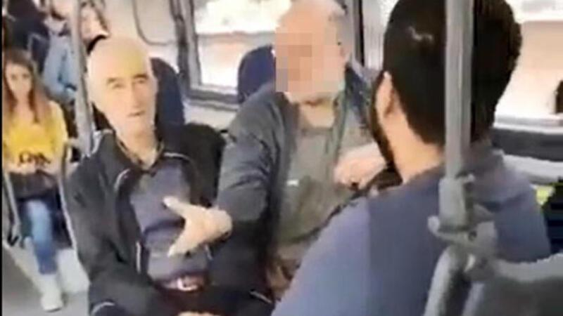 Otobüste 'sözlü taciz' iddiası