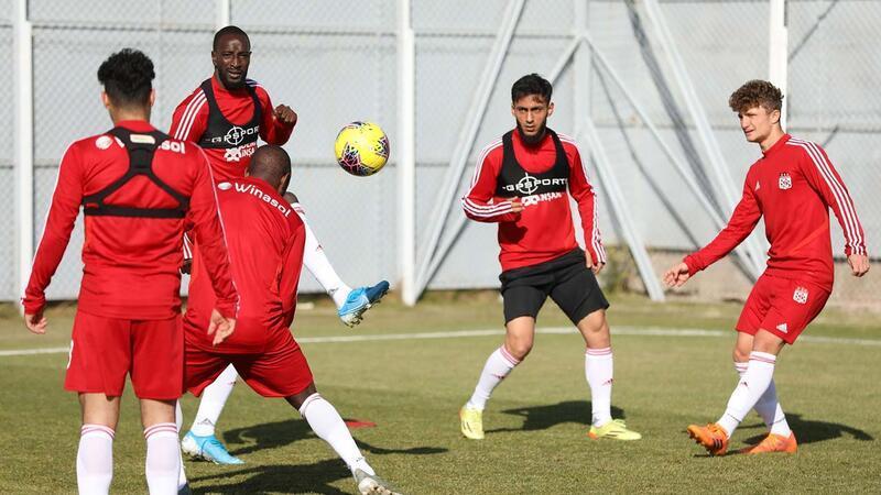 Sivasspor, Kayserispor maçının hazırlıklarını sürdürdü