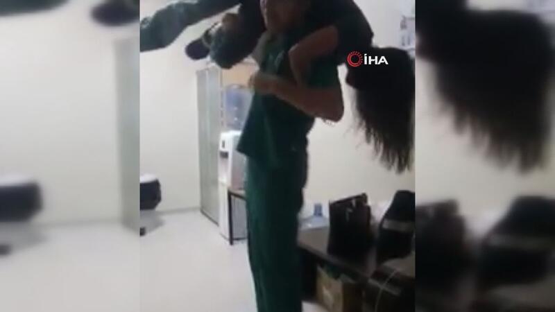 Sosyal medyaya görüntülerin düşmesi üzerine Sağlık Müdürlüğü duruma el attı