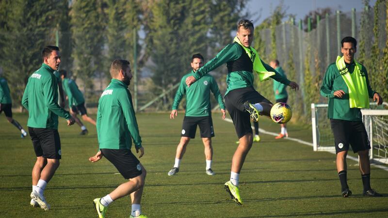 Konyaspor Beşiktaş maçı hazırlıklarını sürdürüyor