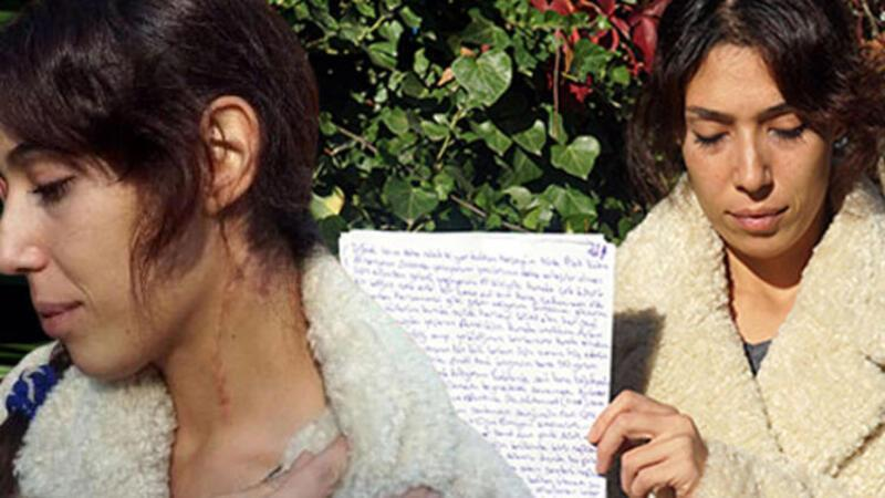 Eski eş dehşetinden kurtulan kadına cezaevinden korkutan mektup
