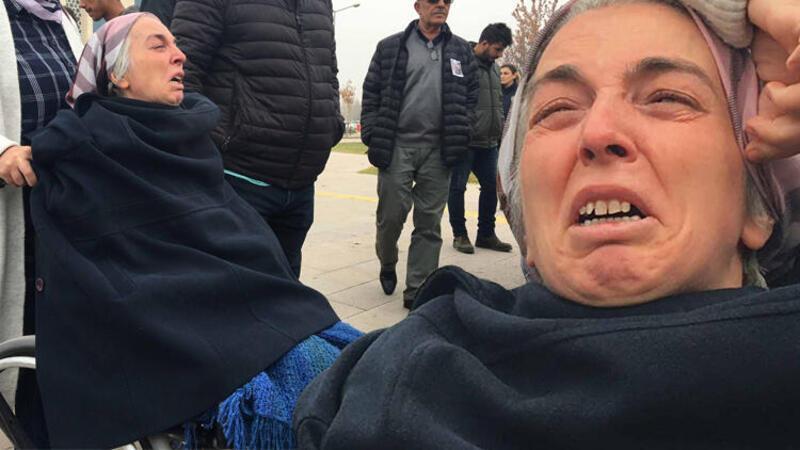 Ölümden dönen anne, iki kızının katilini karşısında görünce gözyaşı döktü