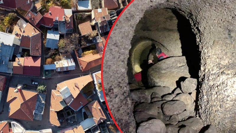 Kayseri'de 26 girişi bulunan büyük yeraltı şehri bulundu