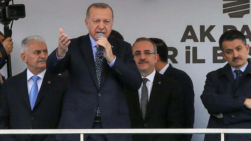 Cumhurbaşkanı Erdoğan AK Parti İzmir İl Başkanlığı'nda konuştu