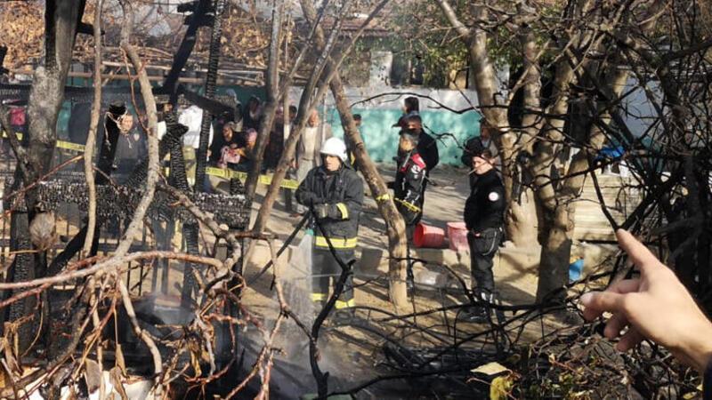 Kömürlükte çıkan yangında 5 yaşındaki Ömer can verdi