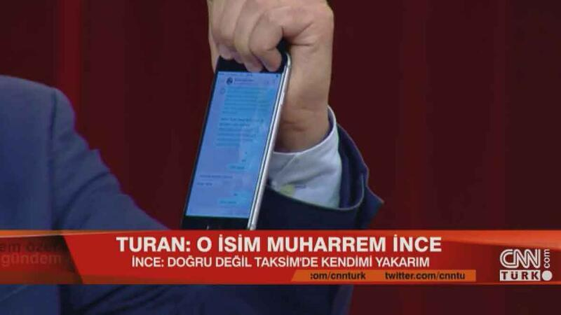 Muharrem İnce: Kanıtlasınlar kendimi Taksim'de yakarım