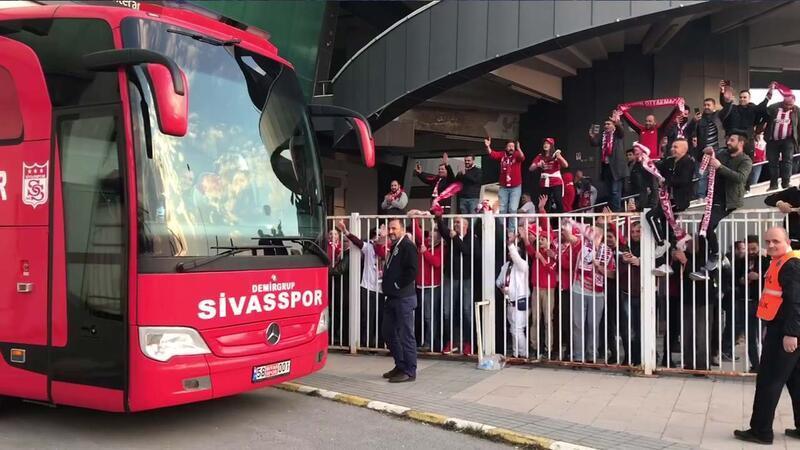 DG Sivasspor'da liderlik coşkusu!