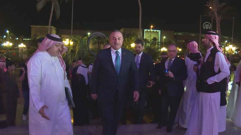 Çavuşoğlu, İslam İşbirliği Teşkilatı'nın 50. kuruluş yıl dönümü törenine katıldı