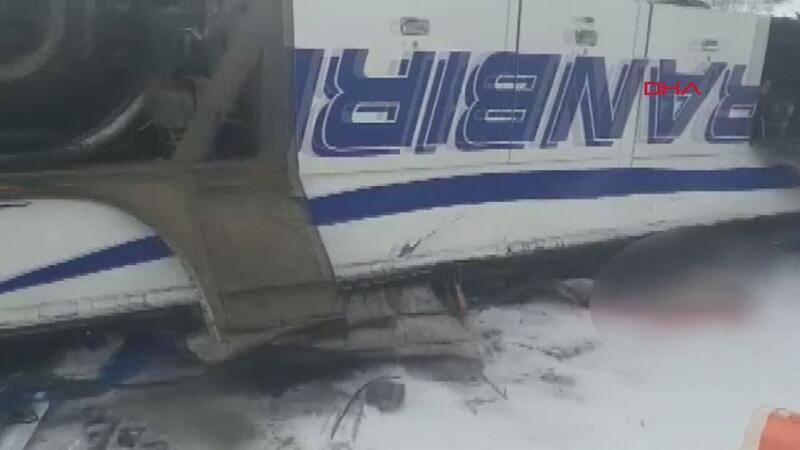 Rusya'da yolcu otobüsü köprüden uçtu 19 ölü