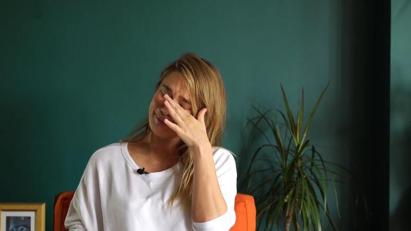 Müge Boz doğum sürecini anlatırken gözyaşlarını tutamadı